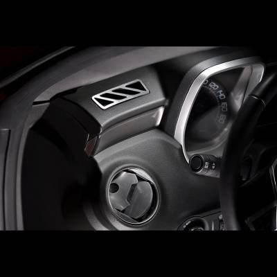 Modern Muscle Car Steel - Chevrolet Camaro - American Car Craft - ACC DBoard Air Vent Trim - 101010
