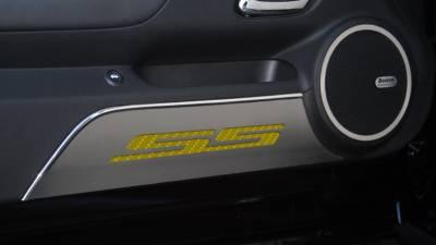 Modern Muscle Car Steel - Chevrolet Camaro - American Car Craft - ACC Door Panel Insert - 101016-YLW