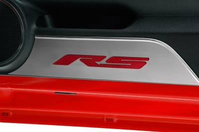 Modern Muscle Car Steel - Chevrolet Camaro - American Car Craft - ACC Door Panel Insert - 101018-RD
