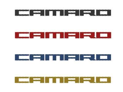 Modern Muscle Car Steel - Chevrolet Camaro - American Car Craft - ACC Door Panel Insert - 101027-BLK