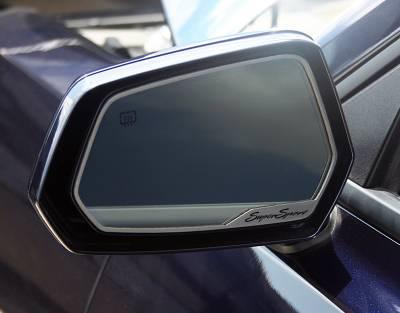 Modern Muscle Car Steel - Chevrolet Camaro - American Car Craft - ACC Door Mirror TrimRing - 102073