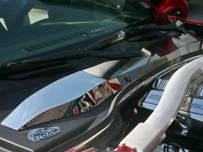 Modern Muscle Car Steel - Chevrolet Camaro - American Car Craft - ACC Cowl Cover - 103023