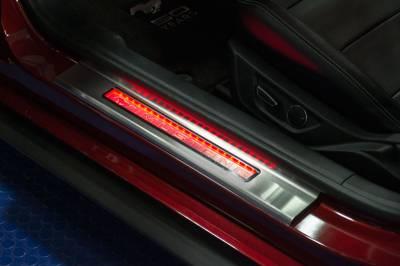American Car Craft - ACC Door Sill Plate - 271037-GRNL