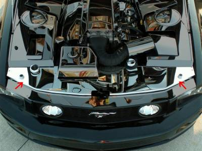Modern Muscle Car Steel - Ford Mustang - American Car Craft - ACC Engine Dress Up Kit - 273012