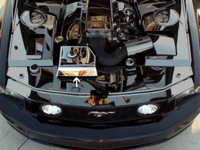 Modern Muscle Car Steel - Ford Mustang - American Car Craft - ACC Engine Dress Up Kit - 273015