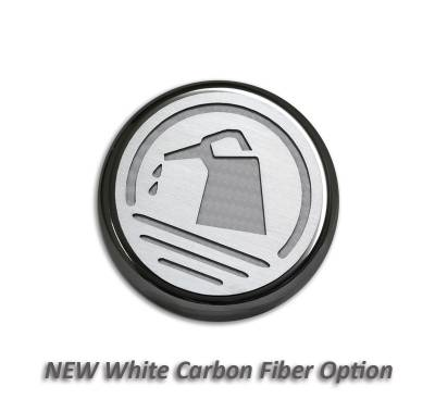 American Car Craft - ACC Fluid Cap Cover Set - 273041-WHT