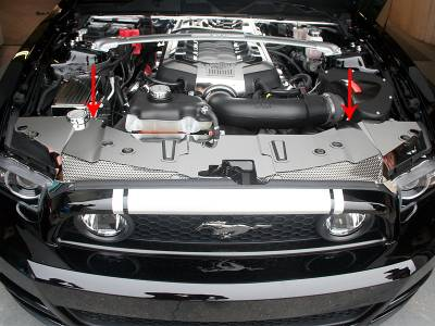 Modern Muscle Car Steel - Ford Mustang - American Car Craft - ACC Engine Dress Up Kit - 273047
