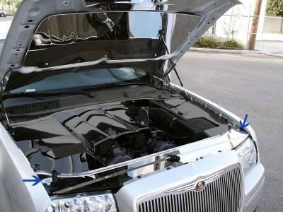 Modern Muscle Car Steel - Chrysler 300 - American Car Craft - ACC Engine Dress Up Kit - 303023