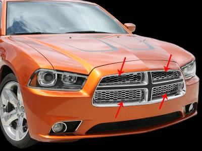 Modern Muscle Car Steel - Dodge Charger - American Car Craft - ACC Exterior Trim Kit - 332005