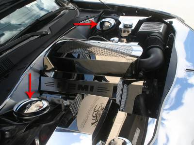 Modern Muscle Car Steel - Chrysler 300 - American Car Craft - ACC Engine Dress Up Kit - 333011