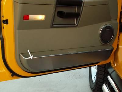 Truck/SUV Steel - GM Hummer - American Car Craft - ACC Door Decal - 491005