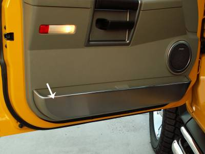 Truck/SUV Steel - GM Hummer - American Car Craft - ACC Door Decal - 491006