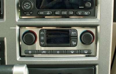 Truck/SUV Steel - GM Hummer - American Car Craft - ACC DBoard Air Vent Trim - 491015