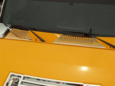 Truck/SUV Steel - GM Hummer - American Car Craft - ACC Cowl Cover - 492006
