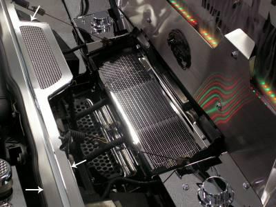 Truck/SUV Steel - GM Hummer - American Car Craft - ACC Engine Dress Up Kit - 493001