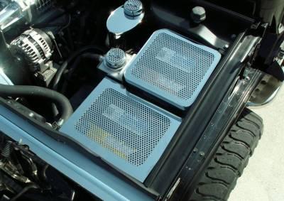 Truck/SUV Steel - GM Hummer - American Car Craft - ACC Engine Dress Up Kit - 493003