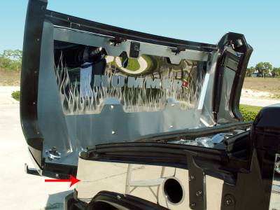 Truck/SUV Steel - GM Hummer - American Car Craft - ACC Fender Covering - 493008