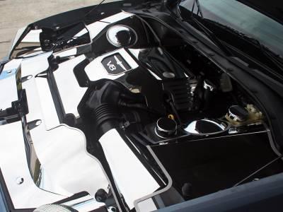Domestic Auto Steel - Thunderbird Accessories - American Car Craft - ACC Engine Cover - 503001-B