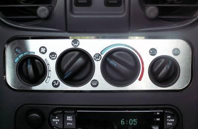 Domestic Auto Steel - Chrysler PT Cruiser - American Car Craft - ACC DBoard Air Vent Trim - 711001