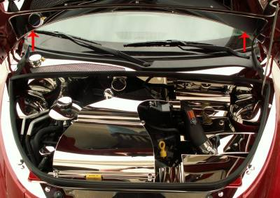 Domestic Auto Steel - Chrysler PT Cruiser - American Car Craft - ACC Engine Dress Up Kit - 713003