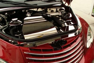 Domestic Auto Steel - Chrysler PT Cruiser - American Car Craft - ACC Engine Dress Up Kit - 713010