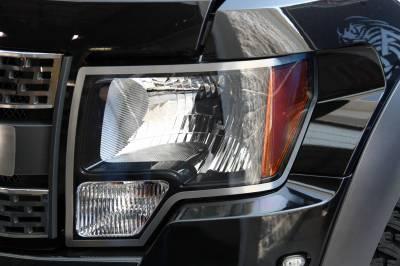 Truck/SUV Steel - Ford F-150 - American Car Craft - ACC Headlight Trim Ring - 772001