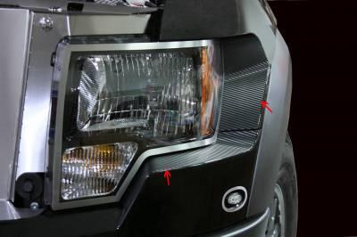 Truck/SUV Steel - Ford Raptor - American Car Craft - ACC Headlight Trim Ring - 772003