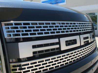 Truck/SUV Steel - Ford Raptor - American Car Craft - ACC Grille - 772007