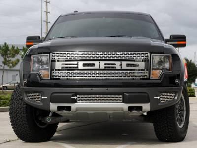 Truck/SUV Steel - Ford Raptor - American Car Craft - ACC Grille - 772009