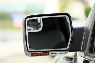 Truck/SUV Steel - Ford Raptor - American Car Craft - ACC Door Mirror TrimRing - 772011