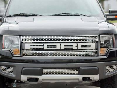 Truck/SUV Steel - Ford Raptor - American Car Craft - ACC Grille Emblem - 772018