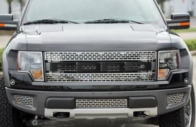 Truck/SUV Steel - Ford Raptor - American Car Craft - ACC Grille Emblem - 772020
