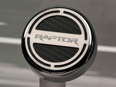 Truck/SUV Steel - Ford Raptor - American Car Craft - ACC Fluid Cap Cover Set - 773009-BLK