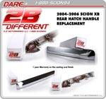 Chrome xB Hatch Handle