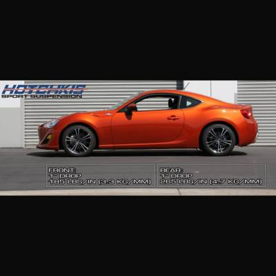 Suspension - Lowering Springs  - HOTCHKIS - Hotchkis Sport Coil Lowering Spings 2013+ FRS/BRZ/FT86: 19445