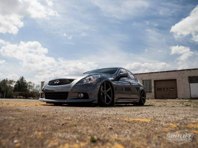 INFINITI - G37 2008-2014 - AIRLIFT PERFORMANCE  - Airlift Infiniti G37 Coupe/Sedan 08-14 Performance Air Ride System 75521 /75621 Manual/3S/3P/3H