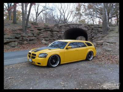 DODGE  - MAGNUM 2005-2008  - AIRLIFT PERFORMANCE  - Airlift Dodge Magnum 05-08 Performance Air Ride System :75527 /75627 Manual/V2/3P/3H