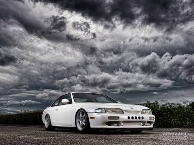 NISSAN  - 240SX 1995-1998 - AIRLIFT PERFORMANCE  - Airlift  S14 200sx/ 240sx/ Silvia Performance Air Ride System: 78508 / 78608 AP Manual/3S/3P/3H