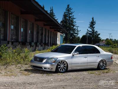 AIRLIFT PERFORMANCE  - Airlift Lexus LS430 01-06 Performance Air Ride System: 75553 / 75653